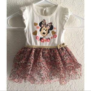 Disney Baby girl tutu bodysuit dress 3- 6 months